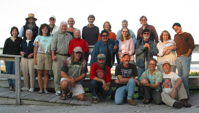 Star Island writers in the round retreat 2006
